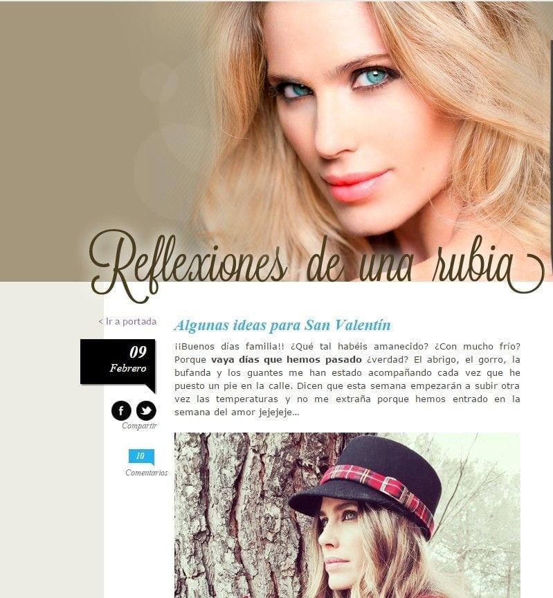 Blog Hola - Vanesa Romero