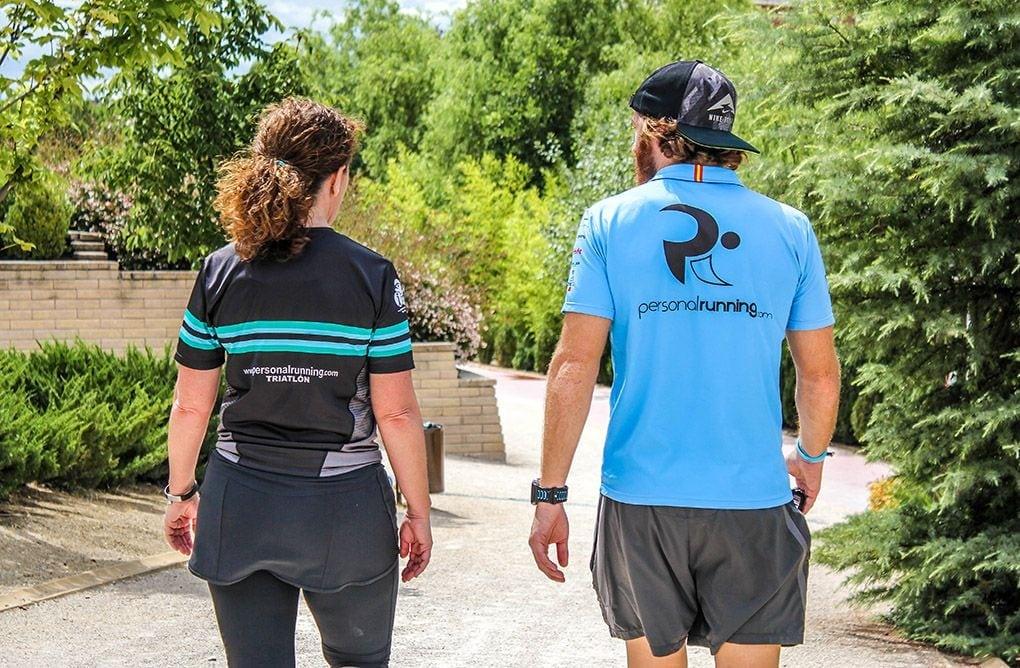 La vuelta al cole de Personal Running y Toni Abadía