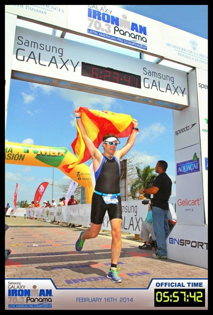 Ironman 70.3 Panama: Alfonso Fontes (cliente PR Triatlón)