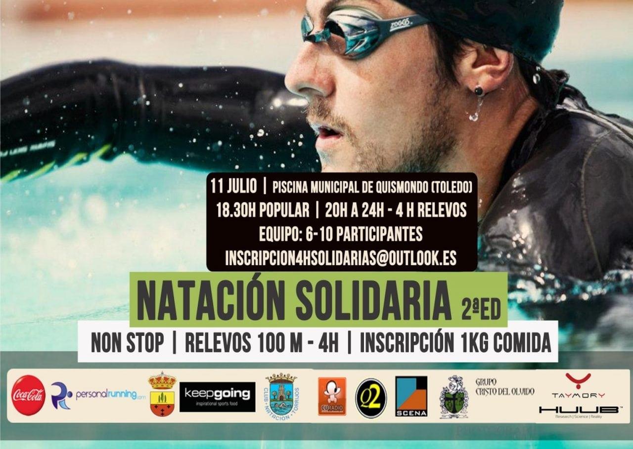 2ªed Trofeo de Natacion Solidario 4h-Non Stop Ayto. Quismondo