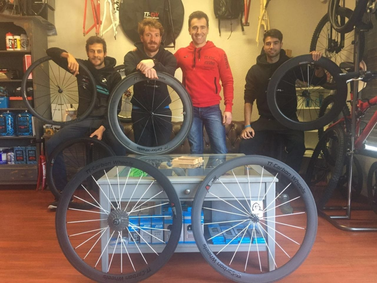 TT-CARBON WHEELS EMPIEZA A RODAR CON PERSONAL RUNNING