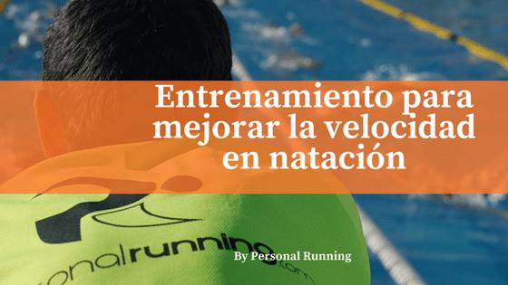 Entrenamiento en series para mejorar la velocidad en natación