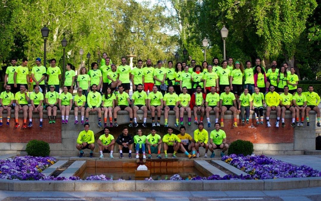 Moda y deporte visten de color el Parque del Retiro