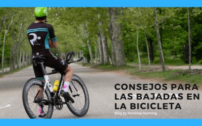 Consejos para las bajadas en bicicleta